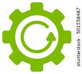 gear rotation direction vector... | Shutterstock .eps vector #501558487