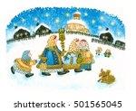 Christmas In Russia Folk...