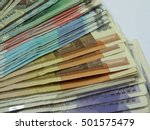 A Series Of Banknotes   Variou...