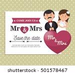 wedding invitation card icon | Shutterstock .eps vector #501578467