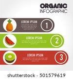 organic infographic...   Shutterstock .eps vector #501579619