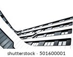 modern glass and metal building ... | Shutterstock . vector #501600001