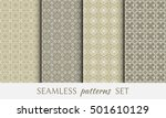 seamless geometric line...   Shutterstock .eps vector #501610129