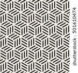 vector seamless pattern. modern ... | Shutterstock .eps vector #501610474