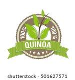 100   quinoa label | Shutterstock .eps vector #501627571
