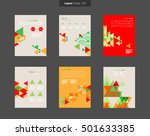 vector layout design template...