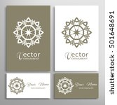 vector geometric design element ... | Shutterstock .eps vector #501648691