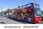 paris sightseeing tour by bus   ... | Shutterstock . vector #501649459