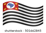 brazilian state of sao paulo... | Shutterstock .eps vector #501662845