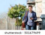young urban businessman... | Shutterstock . vector #501679699