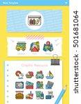 icon set travel vector   Shutterstock .eps vector #501681064