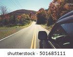 Winding Scenic Drive Upstate...