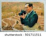 thailand   circa 1997 a stamp...   Shutterstock . vector #501711511