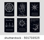 Alchemy And Isoteric Cards Set...