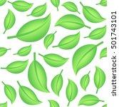seamless decorative template... | Shutterstock .eps vector #501743101
