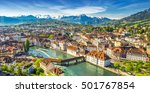 view to pilatus mountain and... | Shutterstock . vector #501767854