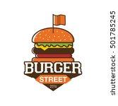 logo burger | Shutterstock .eps vector #501785245