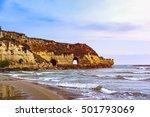 coastline with rocks of the... | Shutterstock . vector #501793069