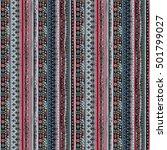 ethnicity seamless pattern.... | Shutterstock .eps vector #501799027