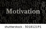 motivation   3d rendered... | Shutterstock . vector #501812191
