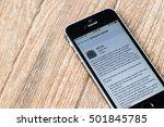 bangkok  thailand   september...   Shutterstock . vector #501845785