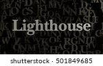 lighthouse   3d rendered... | Shutterstock . vector #501849685