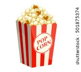 popcorn | Shutterstock .eps vector #501875374