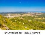 menorca island landscape viewed ... | Shutterstock . vector #501878995