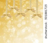 gold sparkling background with... | Shutterstock . vector #501881725