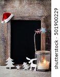 Christmas Chalkboard With...