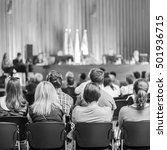 trade union advisory committee... | Shutterstock . vector #501936715