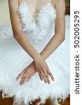Closeup Of  Ballerina's Hands...