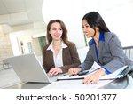 a diverse business woman team... | Shutterstock . vector #50201377