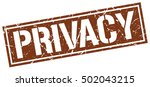 privacy. grunge vintage privacy ...   Shutterstock .eps vector #502043215