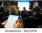 business seminar. | Shutterstock . vector #50211454