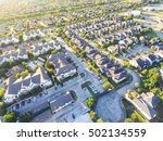 aerial typical multi level... | Shutterstock . vector #502134559