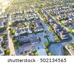aerial typical multi level... | Shutterstock . vector #502134565