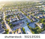 aerial typical multi level... | Shutterstock . vector #502135201