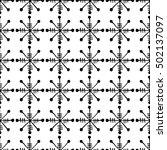 seamless raster pattern. black... | Shutterstock . vector #502137097