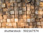 wood pile | Shutterstock . vector #502167574