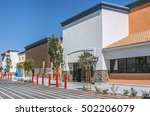 Scenery Of The Shopping Mall