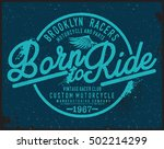 motorcycle t shirt graphic   Shutterstock .eps vector #502214299