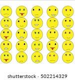 smilies   | Shutterstock .eps vector #502214329