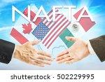 Concept Of Nafta. United State...