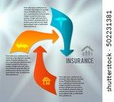 modern design style infographic ... | Shutterstock .eps vector #502231381