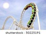 amusement park rides | Shutterstock . vector #50225191