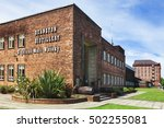 deanston  scotland   june 06 ... | Shutterstock . vector #502255081