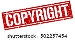 copyright. grunge vintage... | Shutterstock .eps vector #502257454