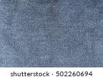 Closeup Jeans Denim Texture An...