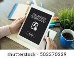 balance scorecard concept   Shutterstock . vector #502270339